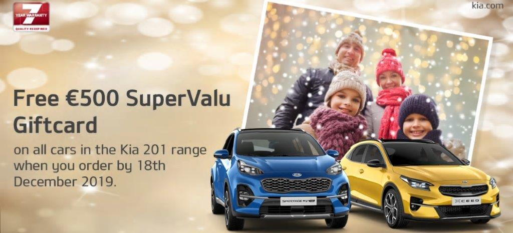 Kia 2020 Supervalu Offer